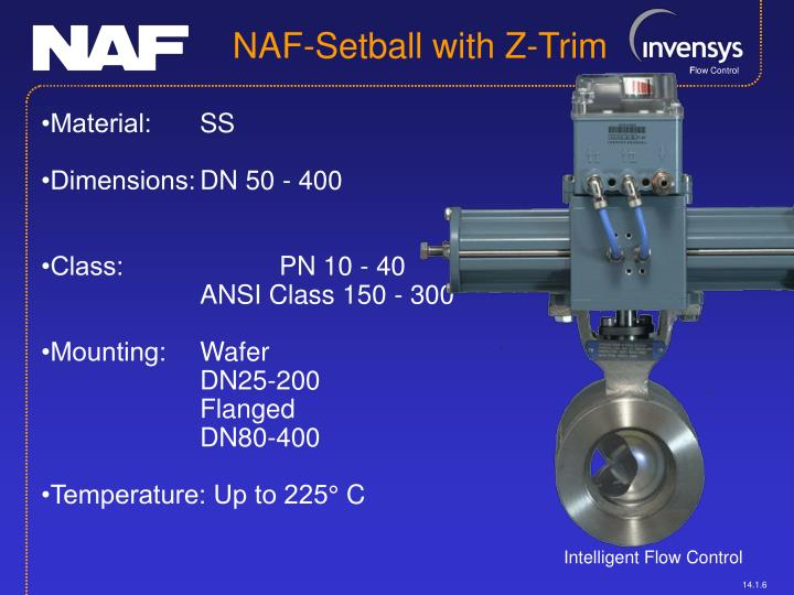 NAF-Setball with Z-Trim