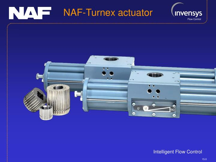 NAF-Turnex actuator