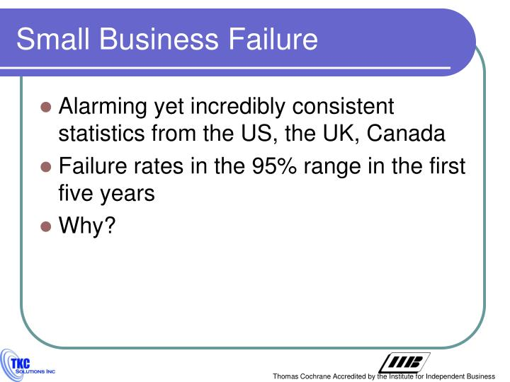 Small business failure1