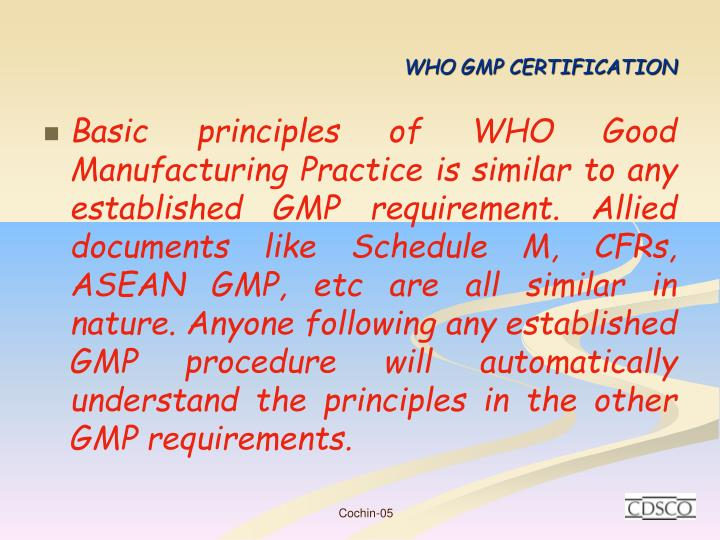 Who gmp certification1