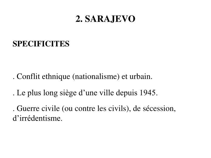 2. SARAJEVO