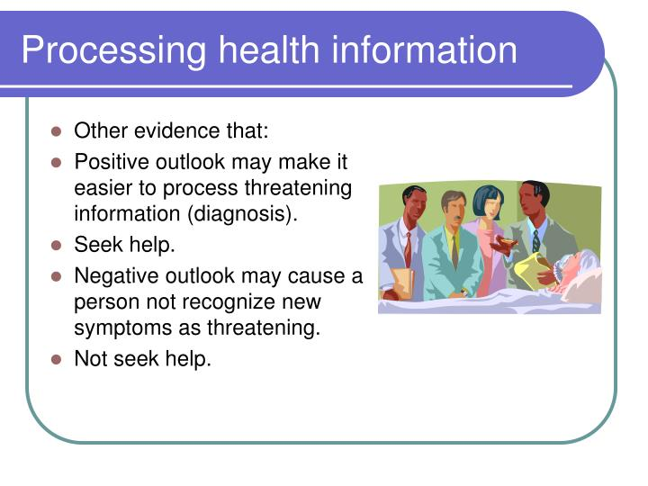 Processing health information