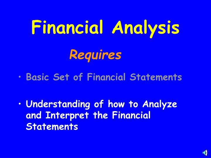 Basic Set of Financial Statements