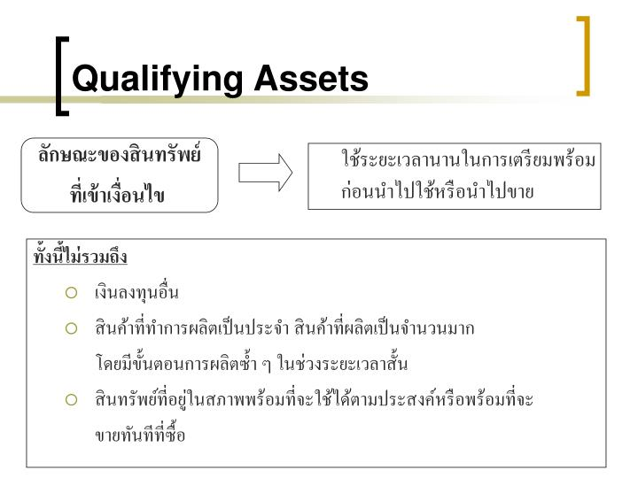 Qualifying Assets