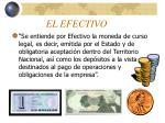 el efectivo1