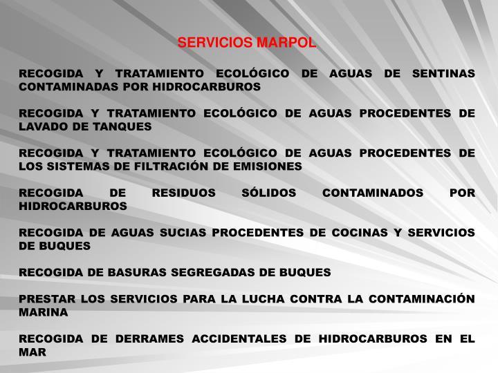 SERVICIOS MARPOL