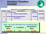 inventory transfers example2