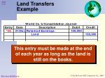 land transfers example1