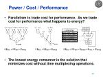 power cost performance