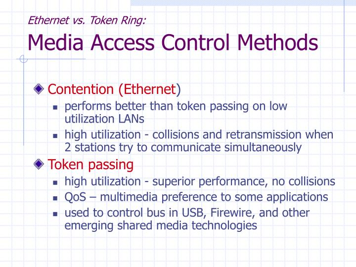 Ethernet vs. Token Ring: