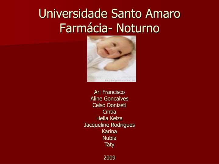Universidade Santo Amaro