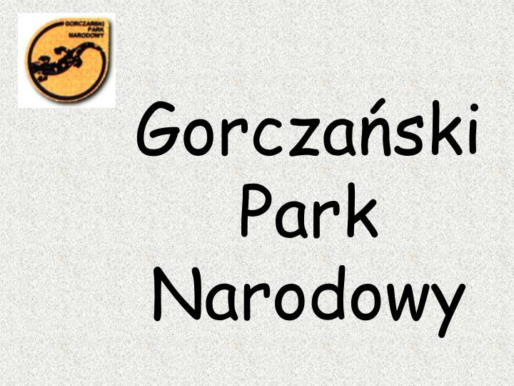 Gorczański