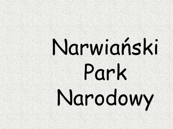 Narwiański