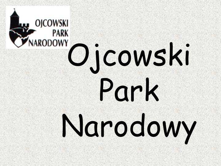 Ojcowski