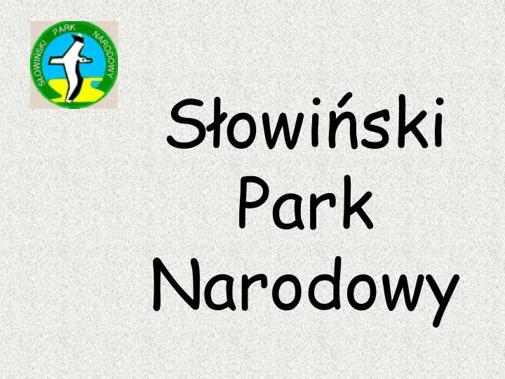 Słowiński