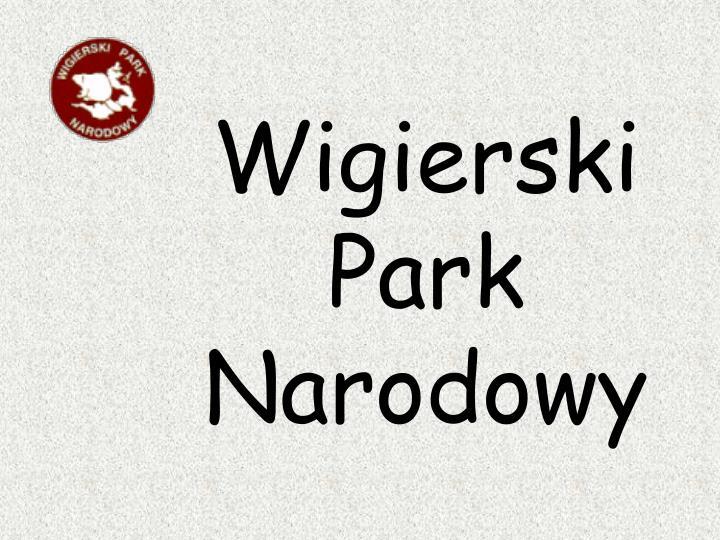 Wigierski
