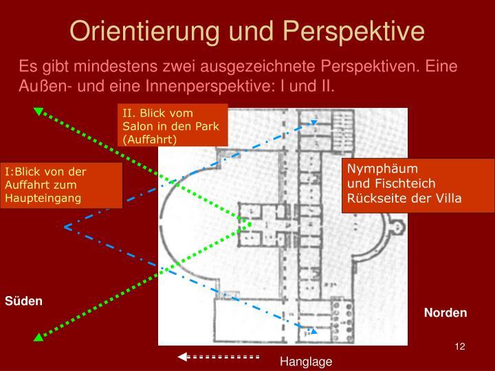 Orientierung und Perspektive