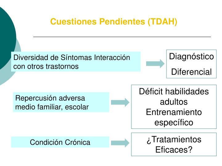 Cuestiones Pendientes (TDAH)