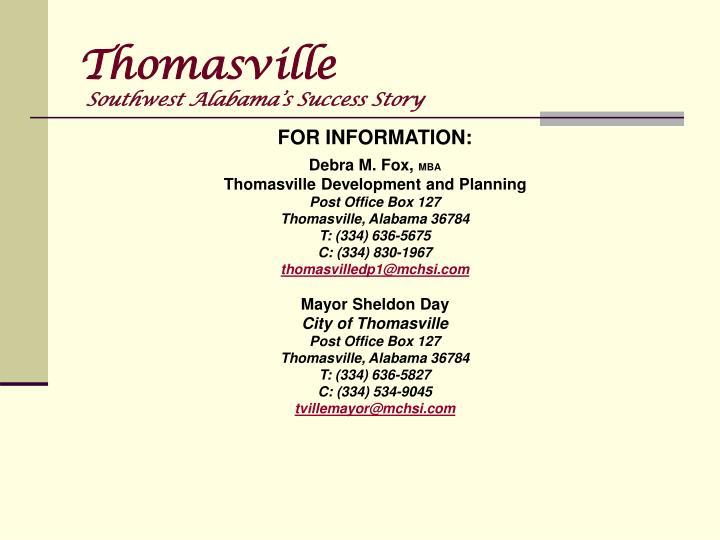 Thomasville