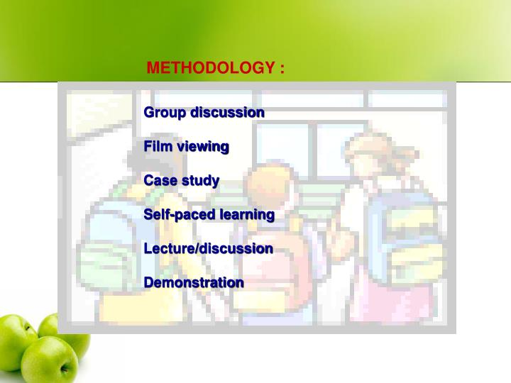 METHODOLOGY :