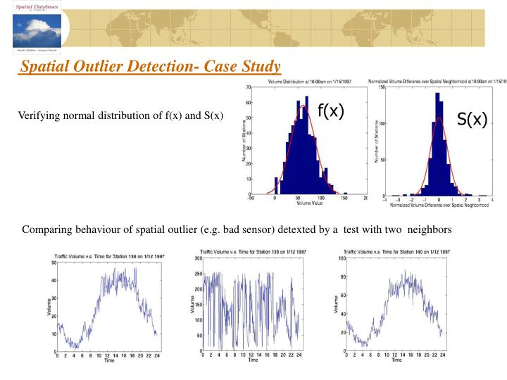 Spatial Outlier Detection- Case Study