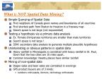 what is not spatial data mining