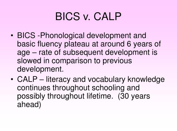 BICS v. CALP