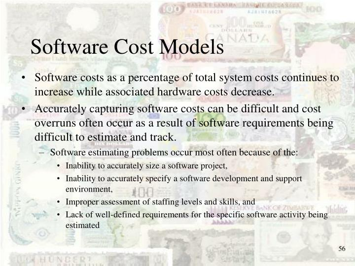 Software Cost Models