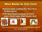 more books by eric carle