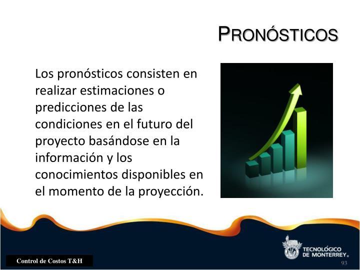 Pronósticos