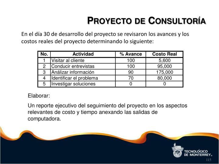 Proyecto de Consultoría