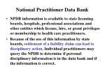 national practitioner data bank1