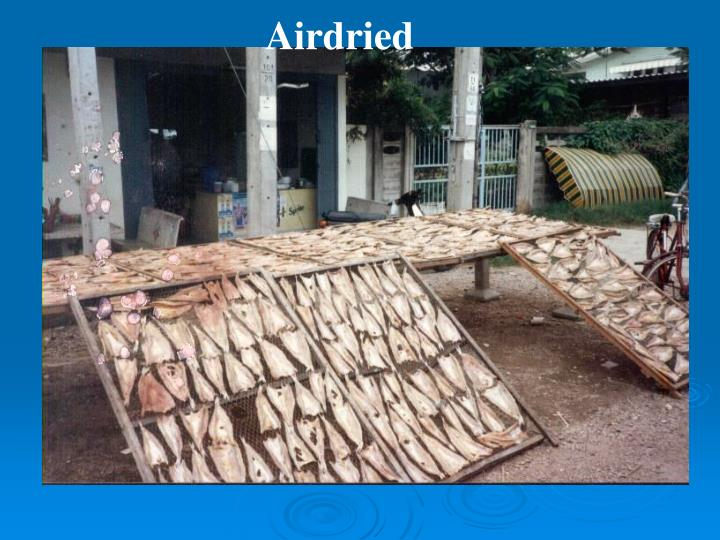 Airdried
