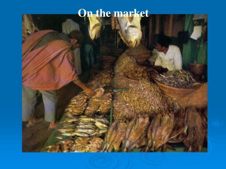 On the market