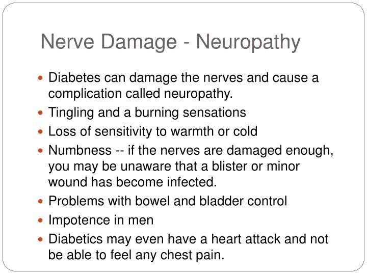 Nerve Damage - Neuropathy