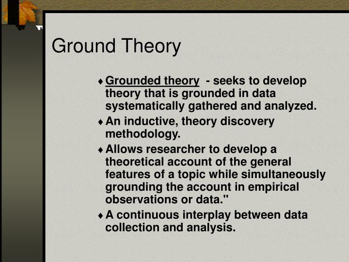 Ground Theory