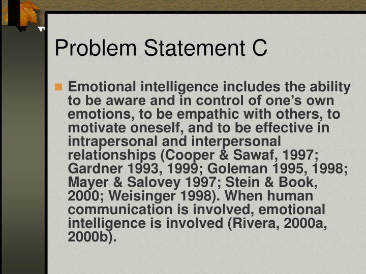 Problem Statement C
