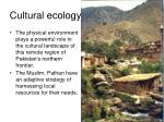 cultural ecology2