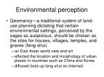 environmental perception1