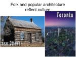 folk and popular architecture reflect culture