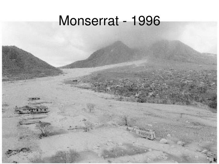 Monserrat - 1996