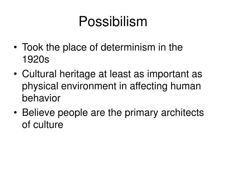 Possibilism