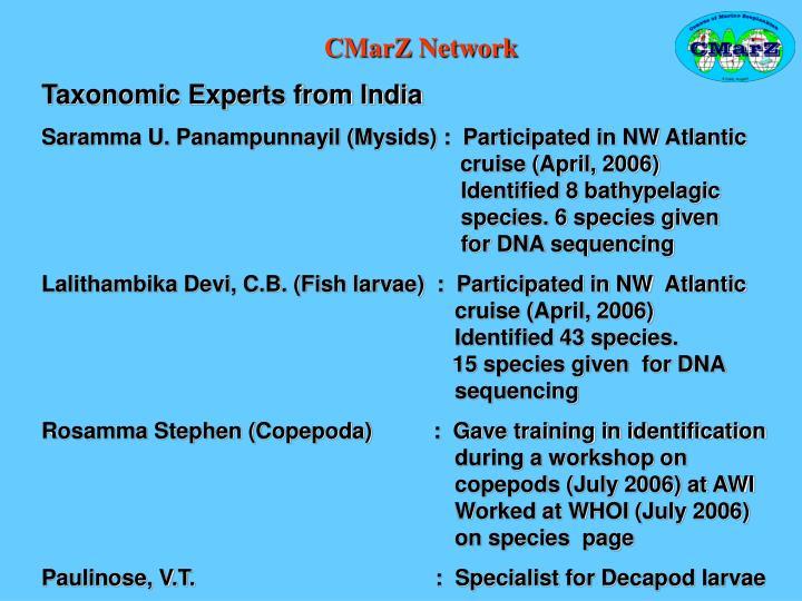 CMarZ Network