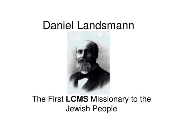 daniel landsmann