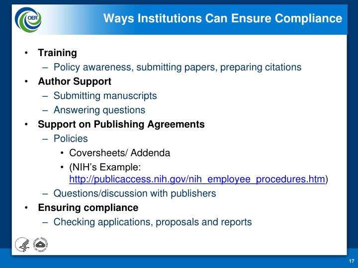 Ways Institutions Can Ensure Compliance