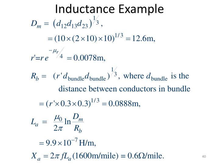 Inductance Example