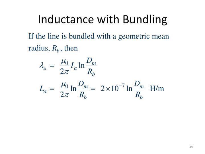 Inductance with Bundling