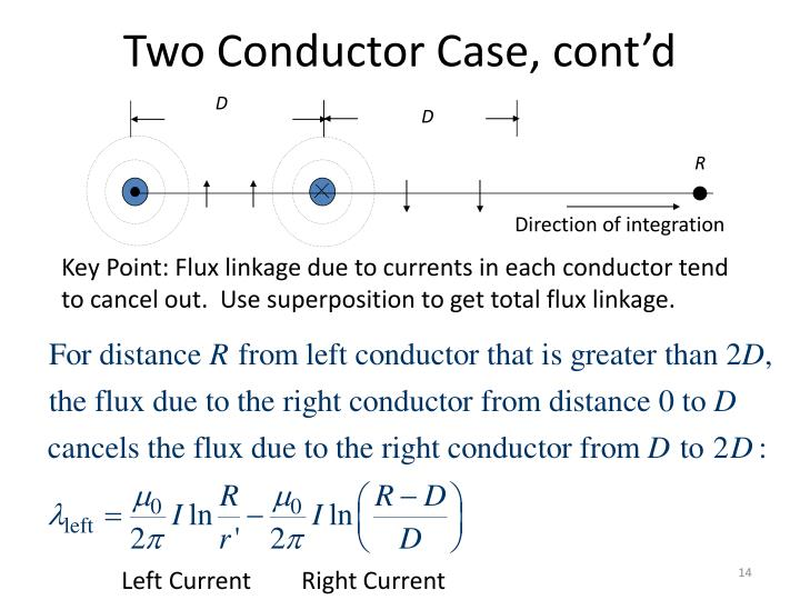 Two Conductor Case, cont'd