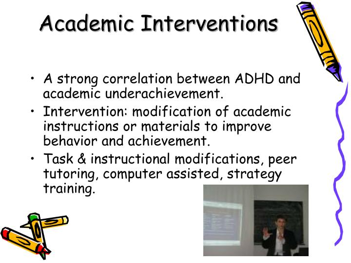 Academic Interventions