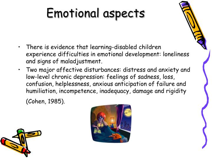 Emotional aspects